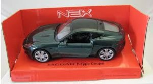 Welly Jaguar F-type Coupe model w skali 1:34